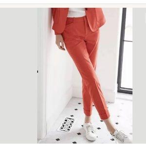 Contemporaine Semi-Slim Cotton Pants